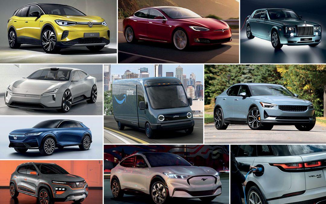 Les voitures électriques de demain