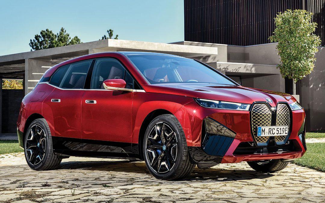 BMW iX, le SUV 100% électrique veut détrôner Tesla