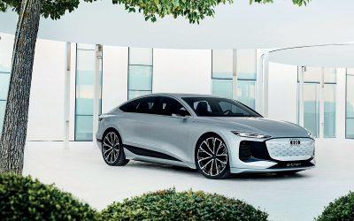 Audi A6 eTron Concept