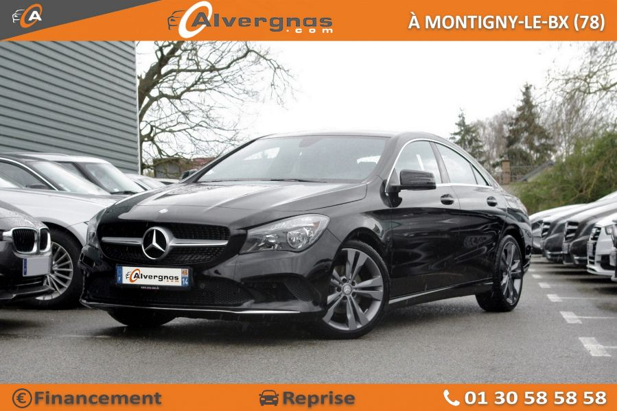 MERCEDES CLA d'occasion sur Paris
