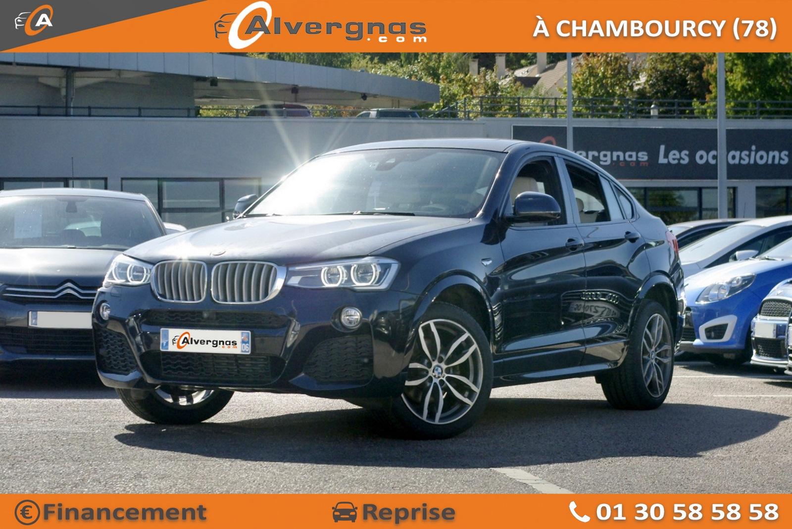 BMW X4 d'occasion sur Paris