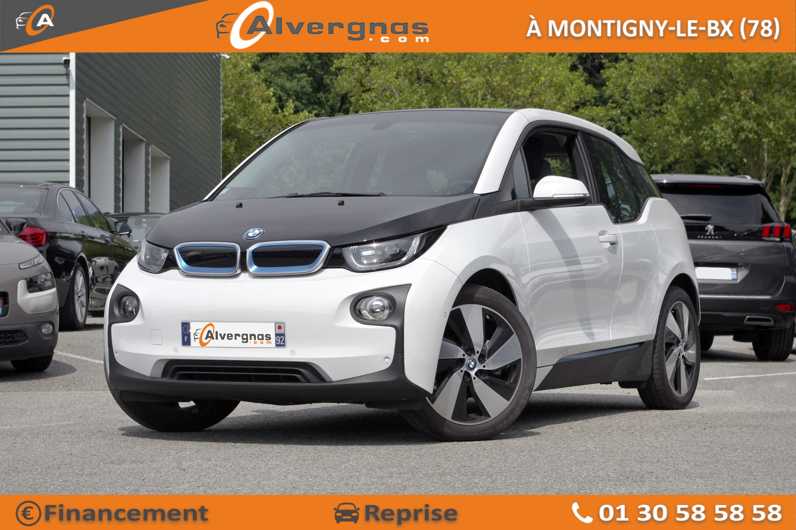 BMW I3 d'occasion sur Paris