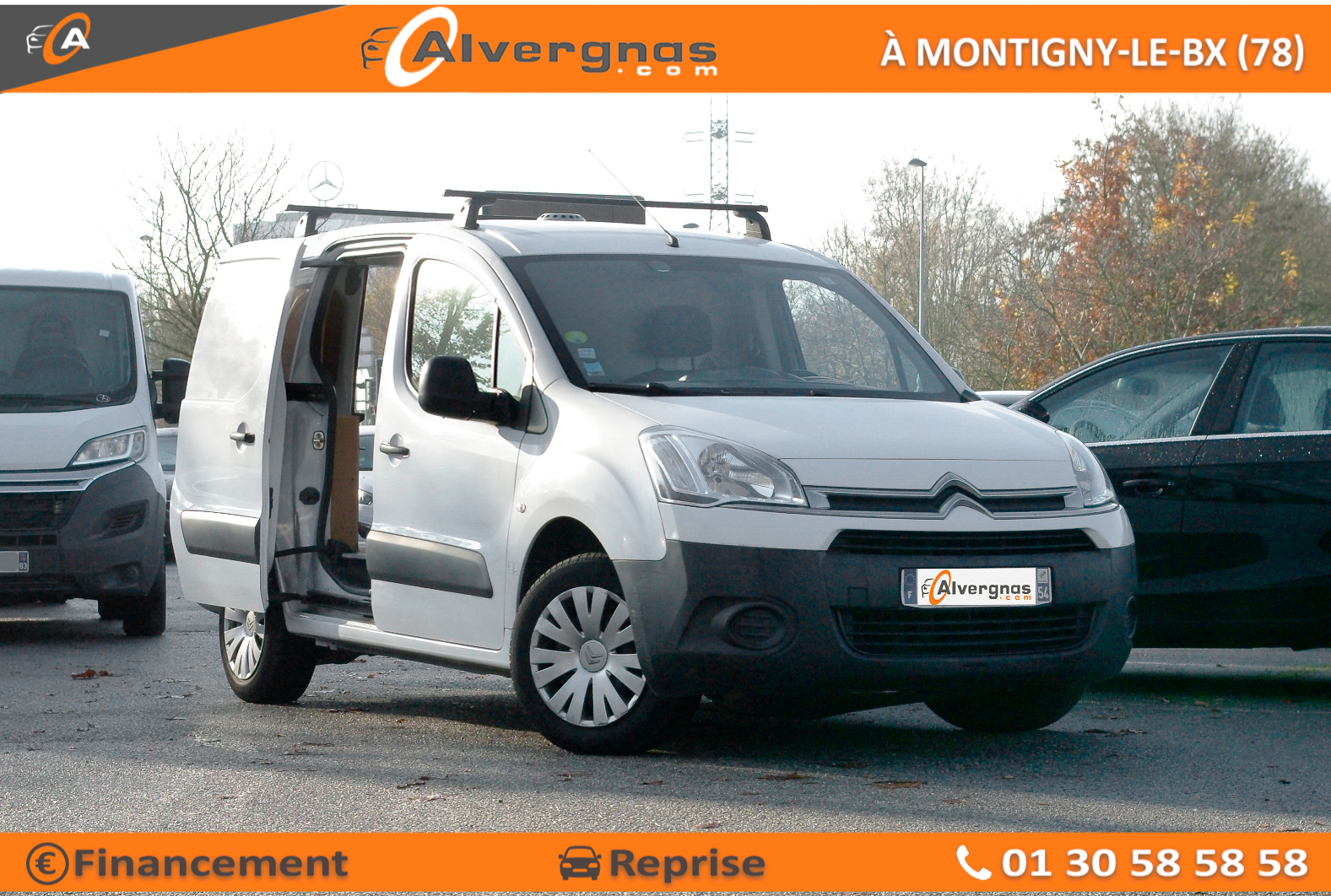 CITROEN BERLINGO FOURGON d'occasion sur Paris