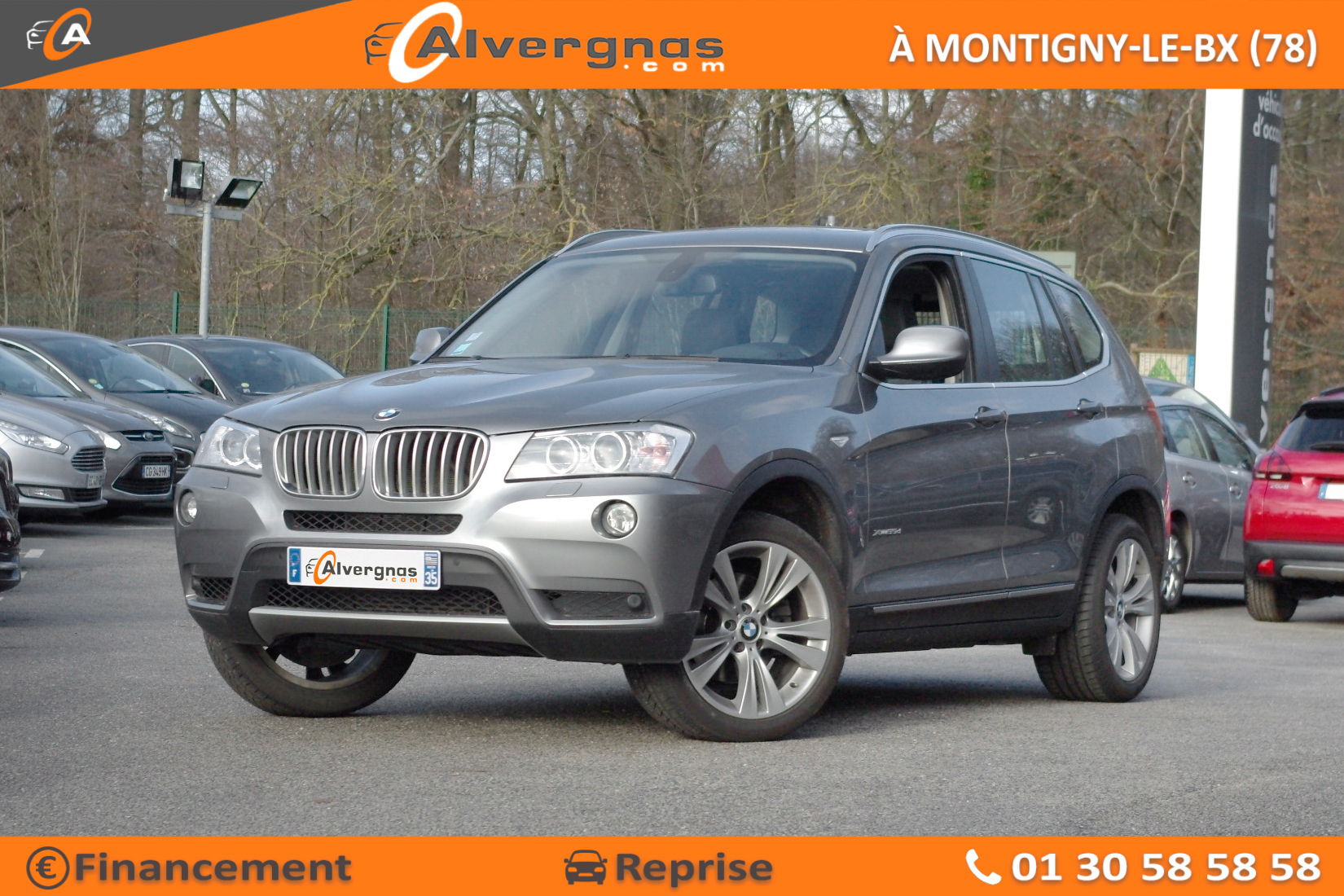 BMW X3 F25 d'occasion sur Paris