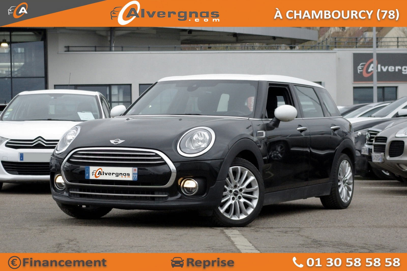 MINI MINI CLUBMAN F54 d'occasion sur Paris