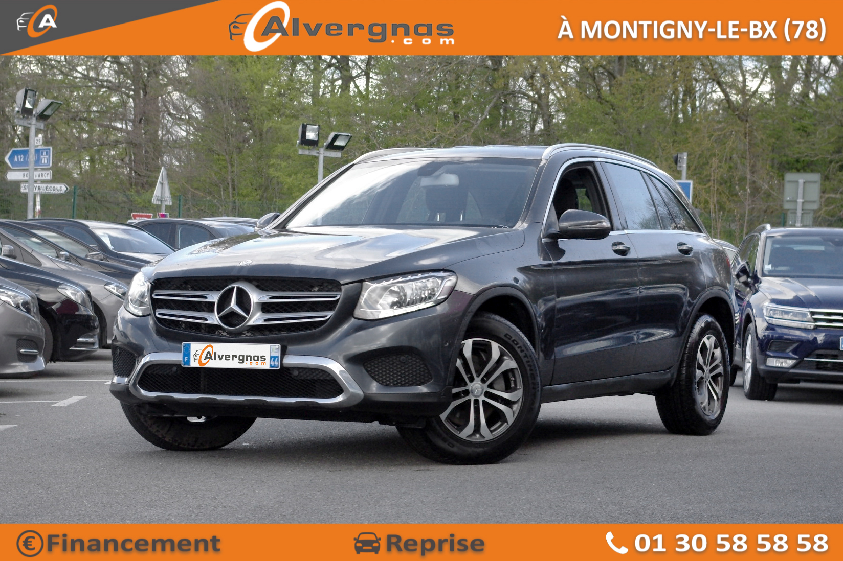 MERCEDES GLC d'occasion sur Paris