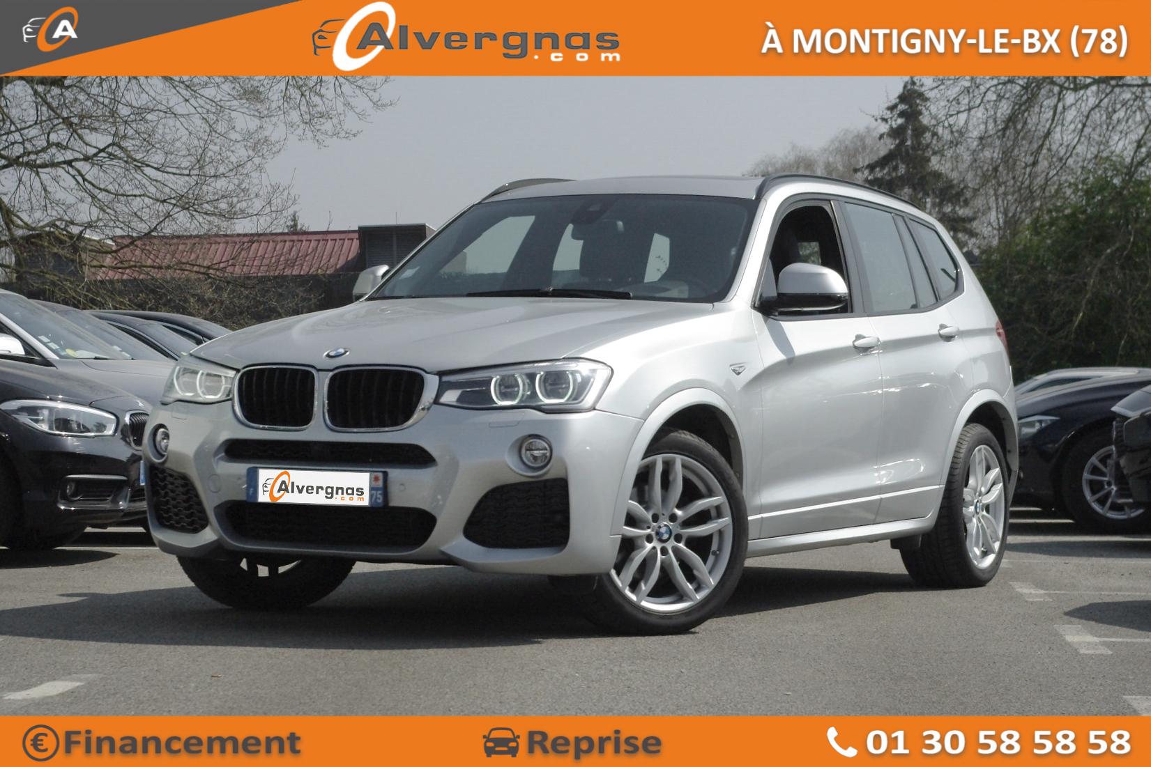 BMW X3 d'occasion sur Paris