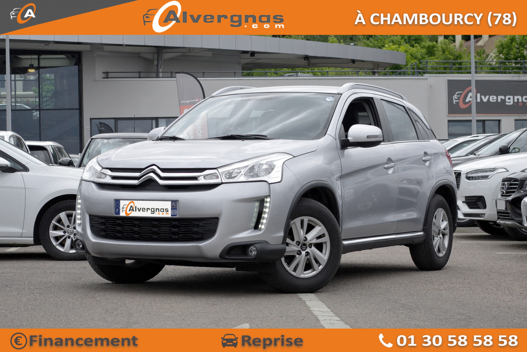 CITROEN C4 AIRCROSS d'occasion sur Paris
