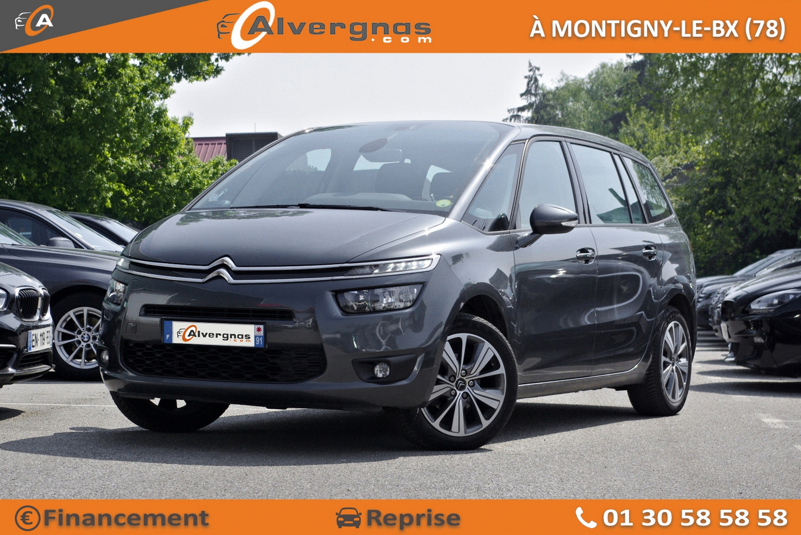 CITROEN GRAND C4 PICASSO d'occasion sur Paris