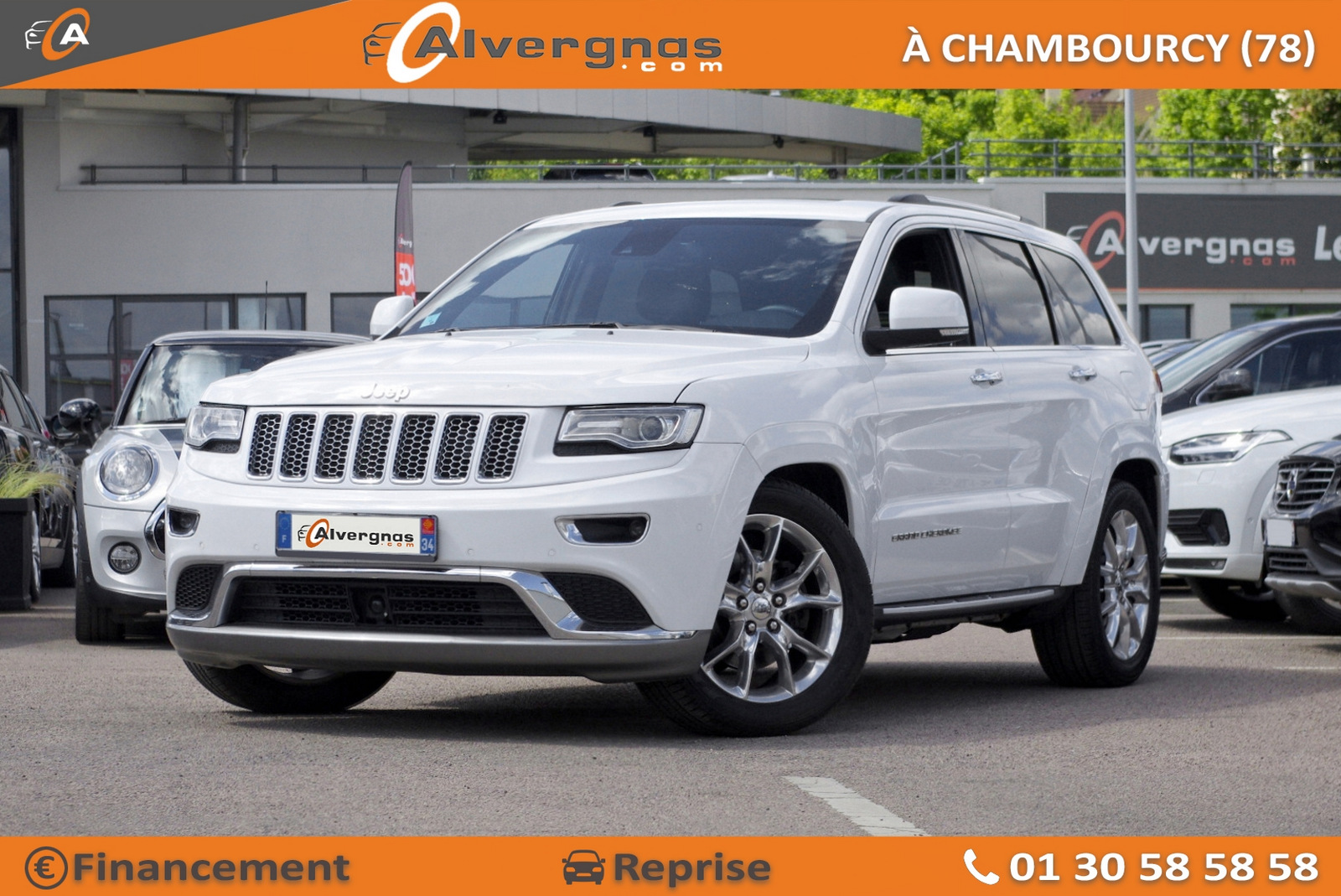 JEEP GRAND CHEROKEE d'occasion sur Paris