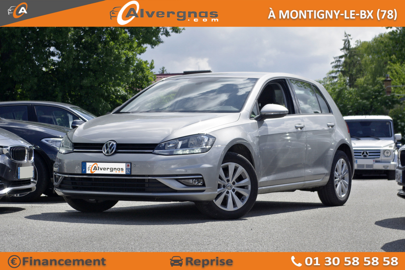VOLKSWAGEN GOLF d'occasion sur Paris