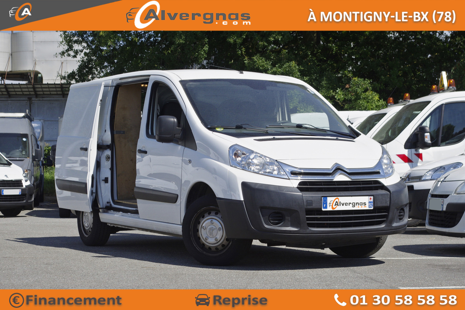 CITROEN JUMPY FOURGON d'occasion sur Paris