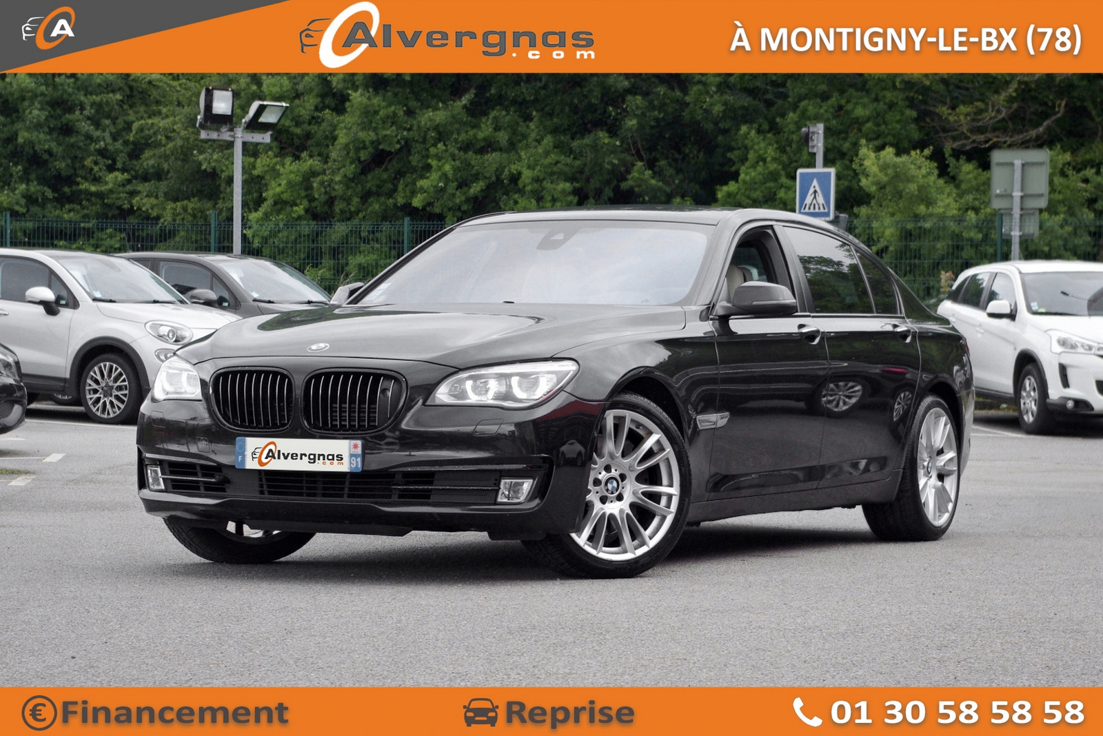 BMW SERIE 7 d'occasion sur Paris