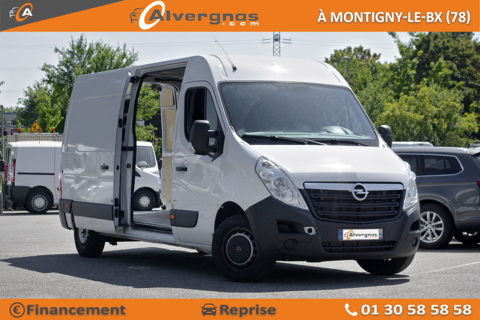 OPEL MOVANO FOURGON d'occasion sur Paris