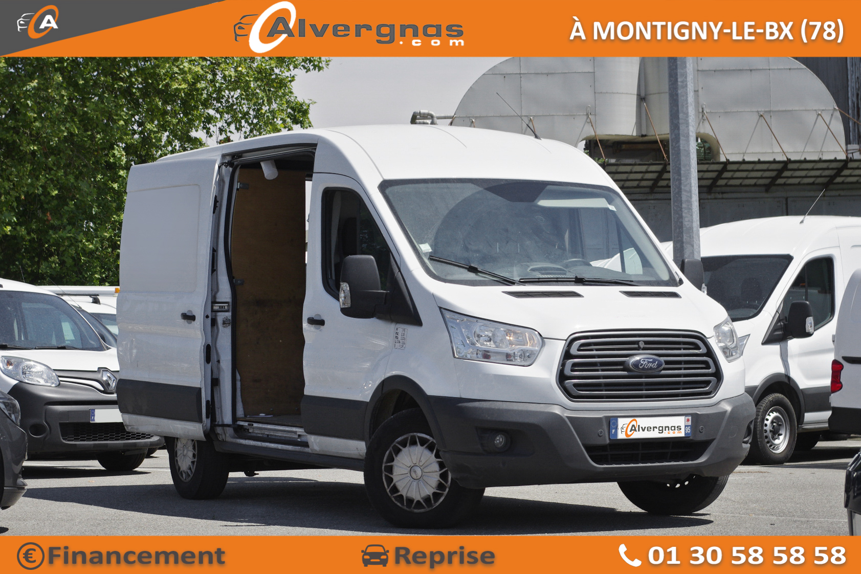FORD TRANSIT FOURGON d'occasion sur Paris