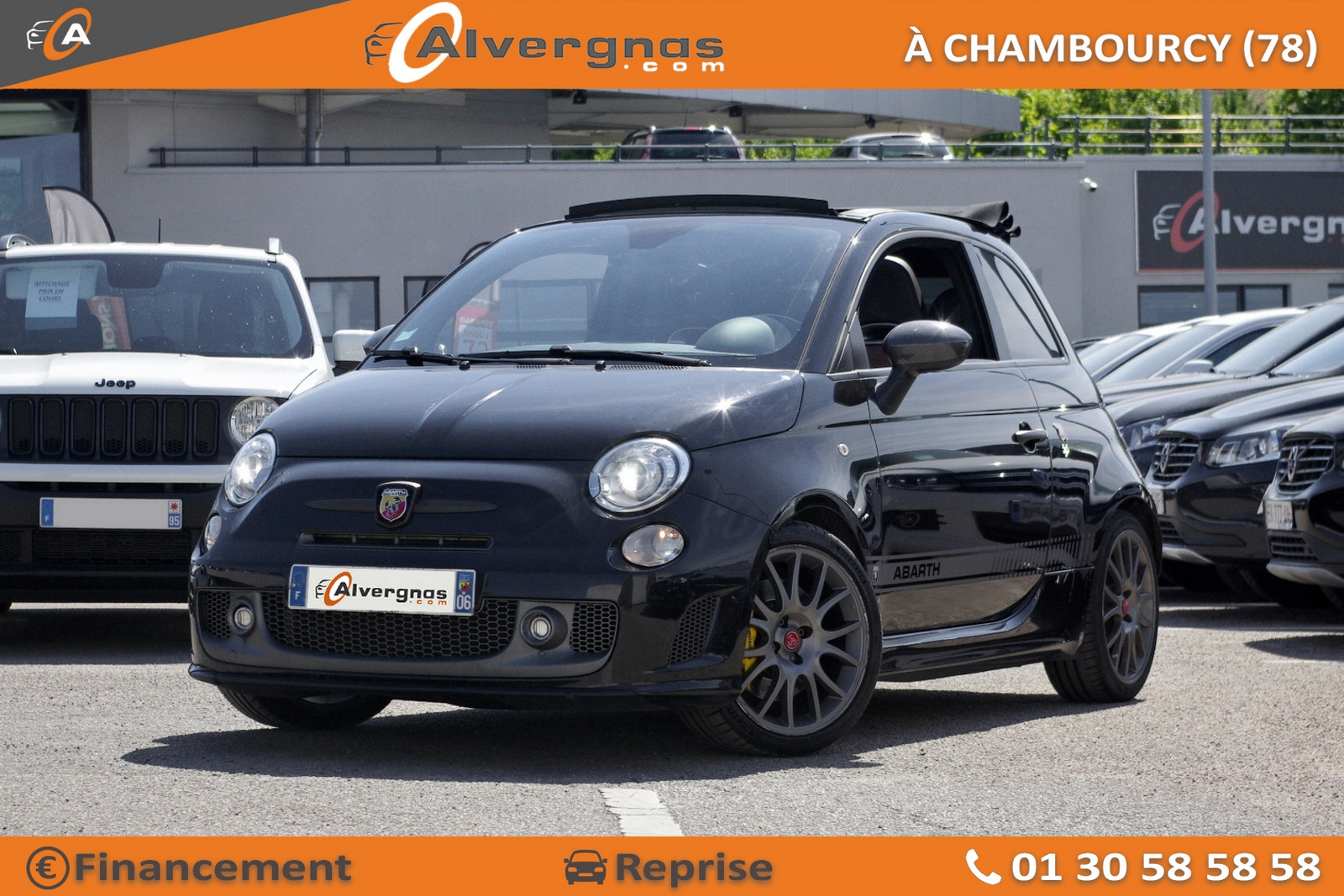 ABARTH 500 d'occasion sur Paris