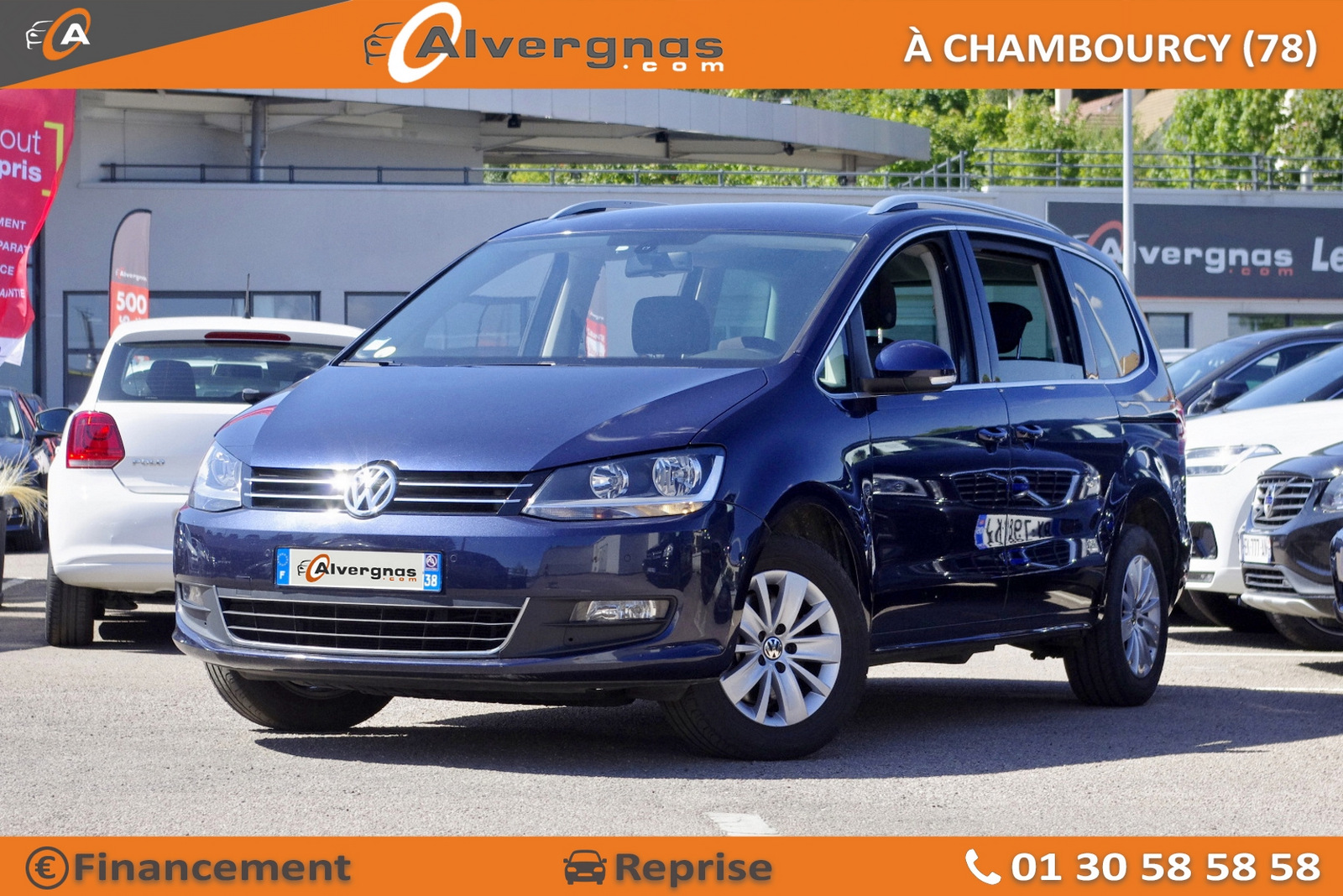 VOLKSWAGEN SHARAN d'occasion sur Paris