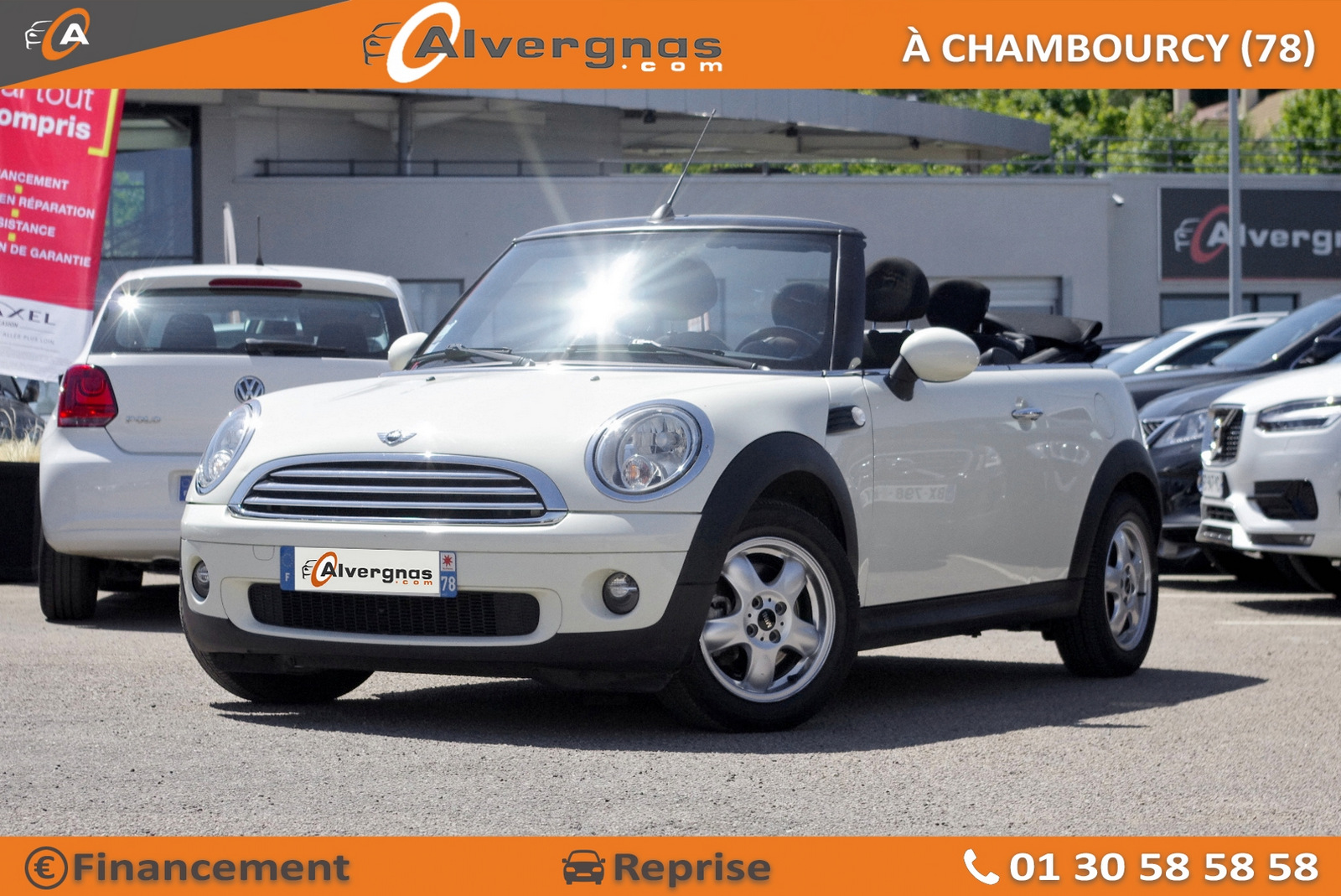 MINI MINI CABRIOLET d'occasion sur Paris