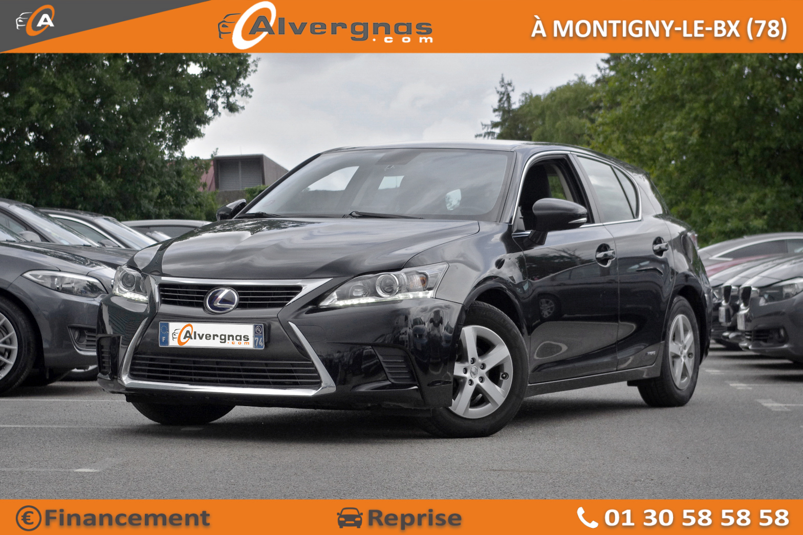 LEXUS CT d'occasion sur Paris