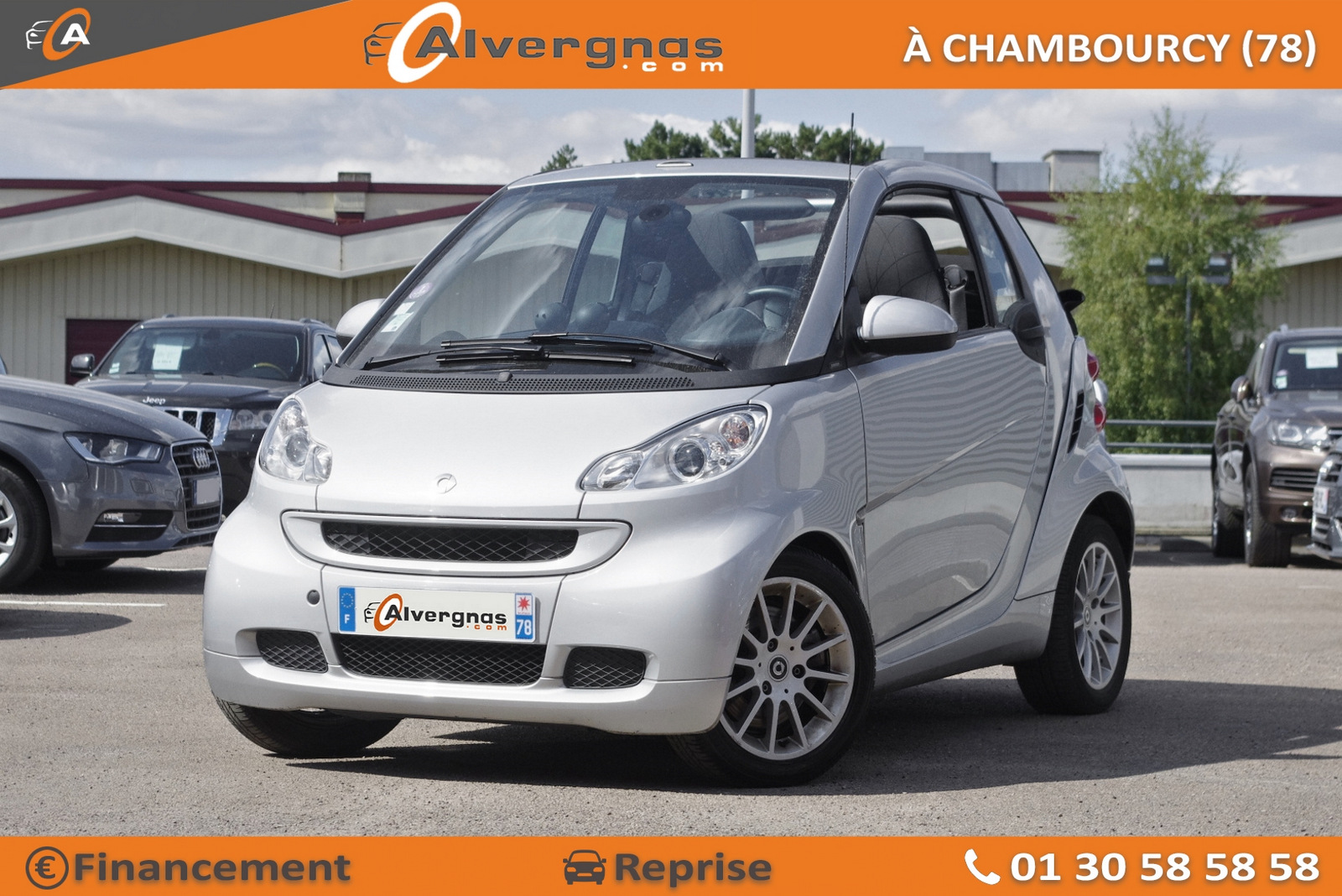 SMART FORTWO d'occasion sur Paris