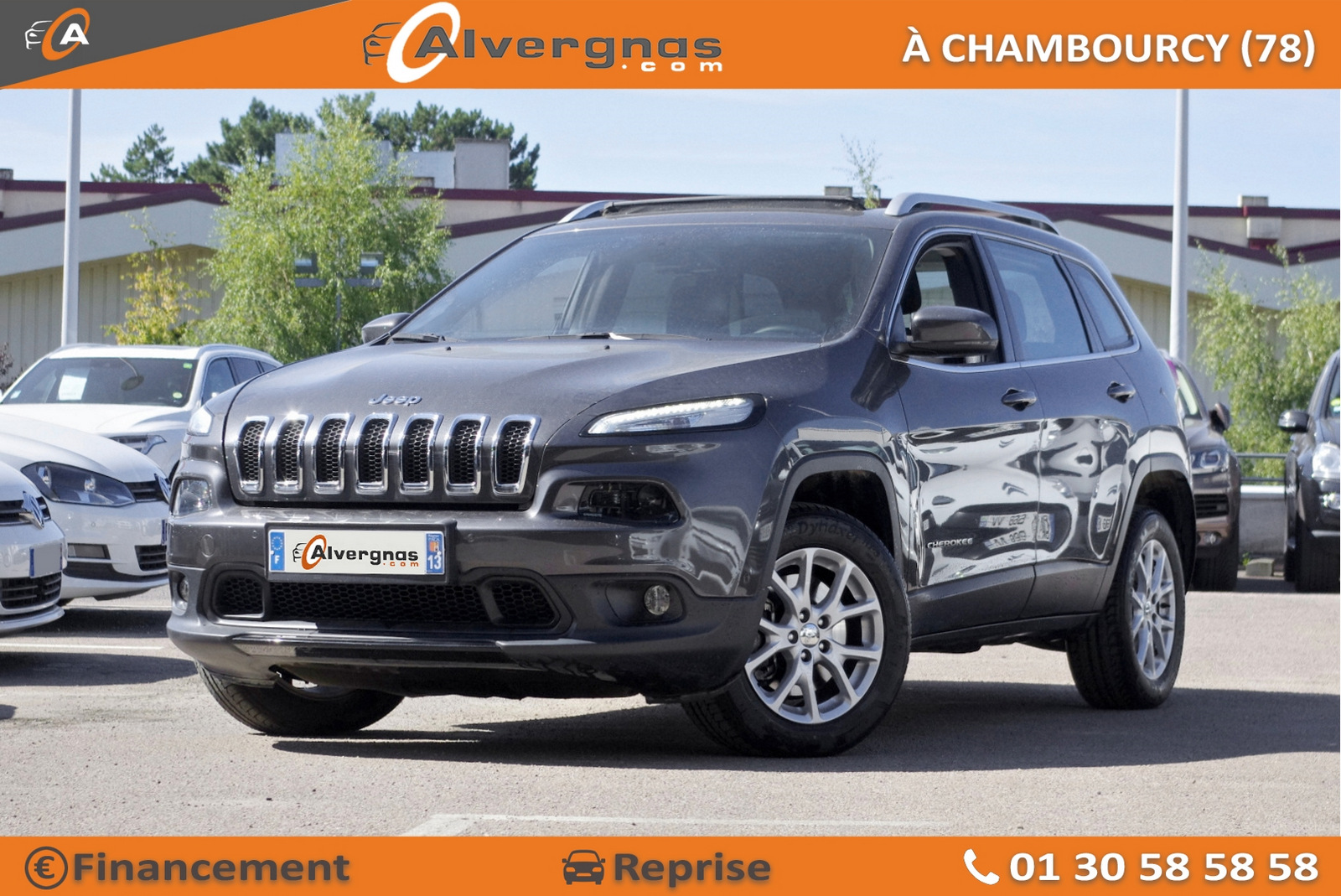JEEP CHEROKEE d'occasion sur Paris