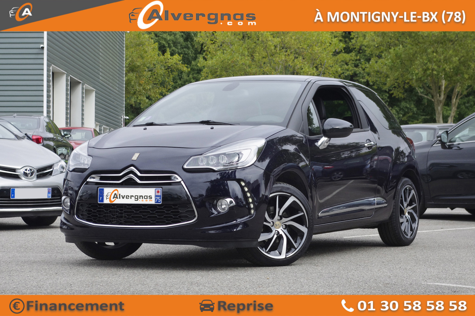DS DS3 d'occasion sur Paris
