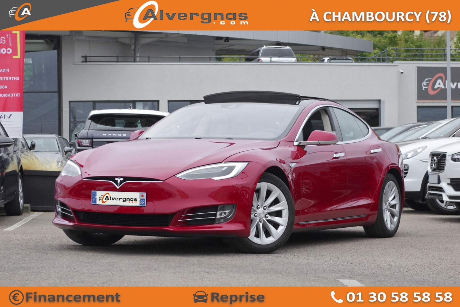 TESLA MODEL S d'occasion sur Paris