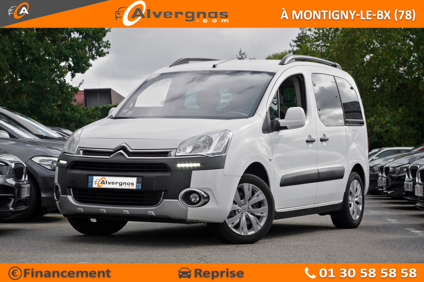 CITROEN BERLINGO MULTISPACE d'occasion sur Paris
