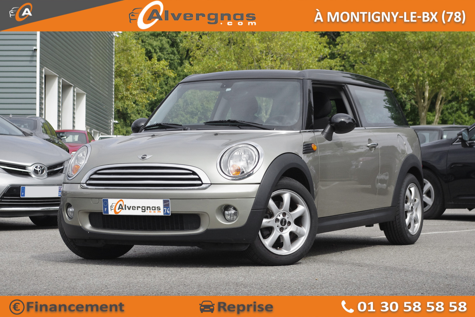 MINI MINI CLUBMAN R55 d'occasion sur Paris