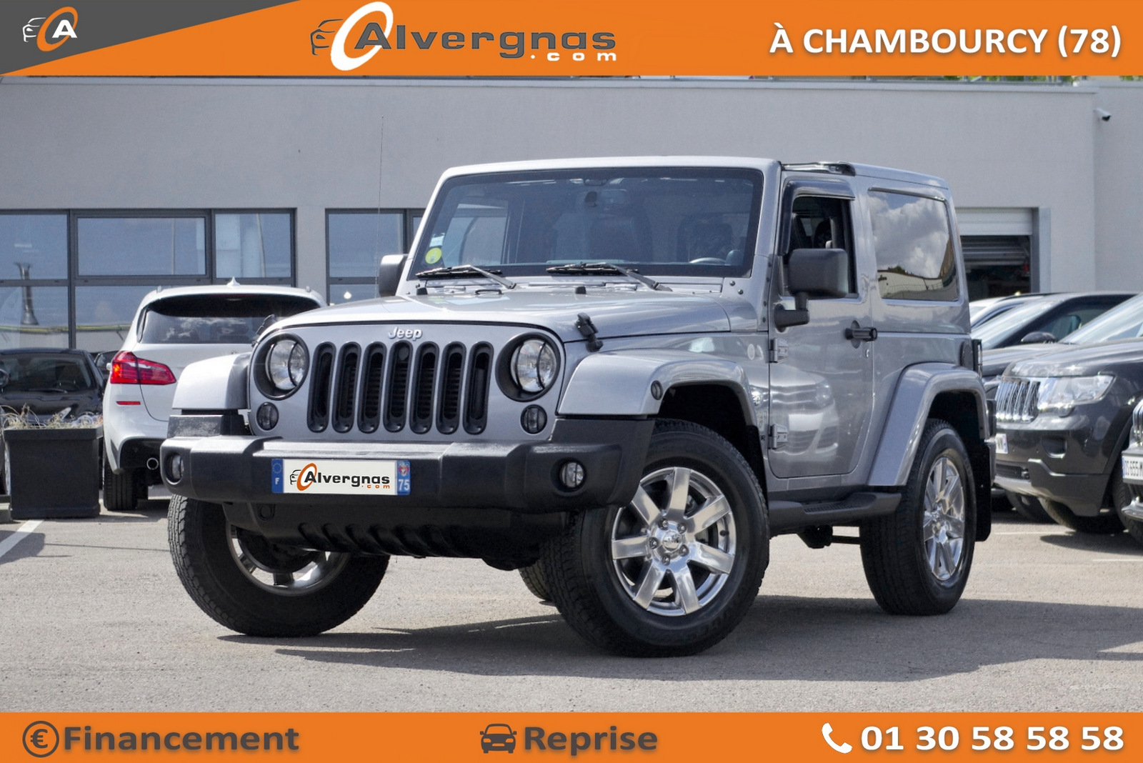 JEEP WRANGLER d'occasion sur Paris