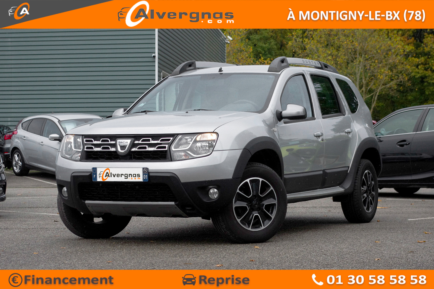 DACIA DUSTER d'occasion sur Paris