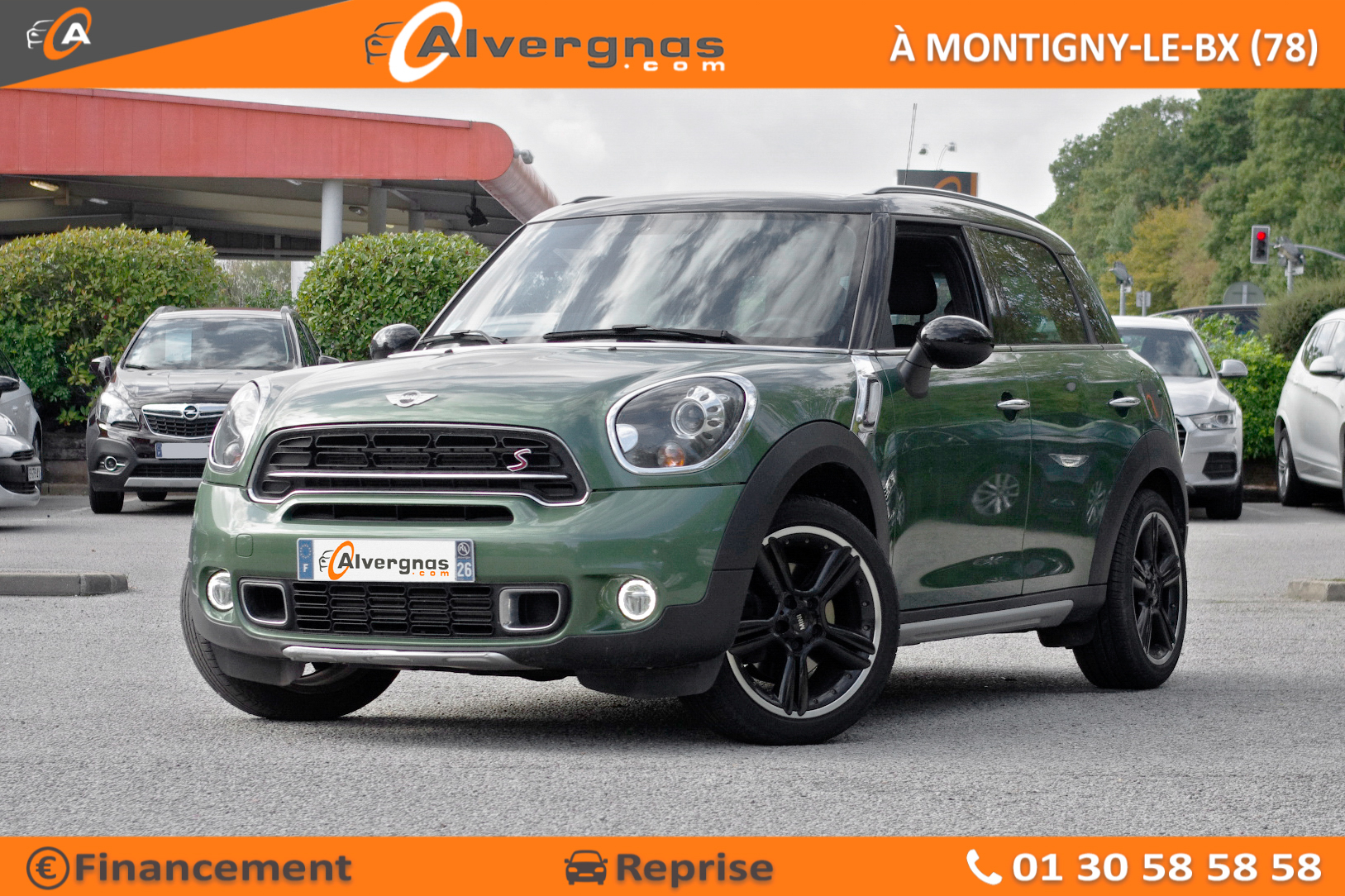 MINI MINI COUNTRYMAN R60 d'occasion sur Paris