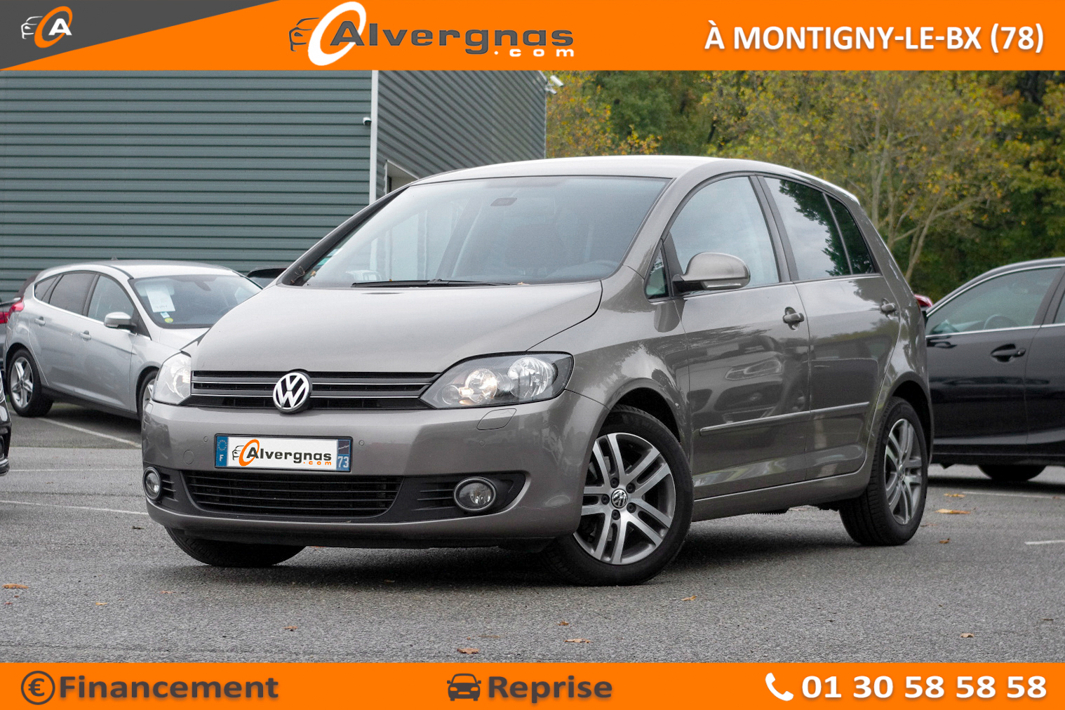 VOLKSWAGEN GOLF PLUS d'occasion sur Paris