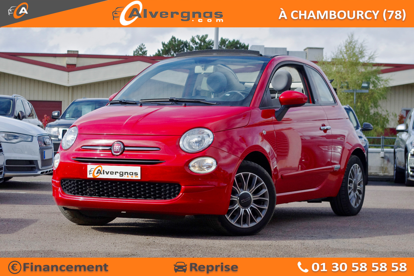 FIAT 500 d'occasion sur Paris