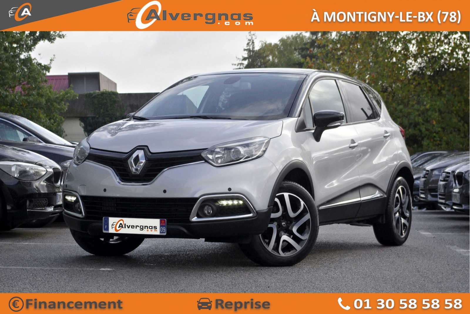 RENAULT CAPTUR d'occasion sur Paris