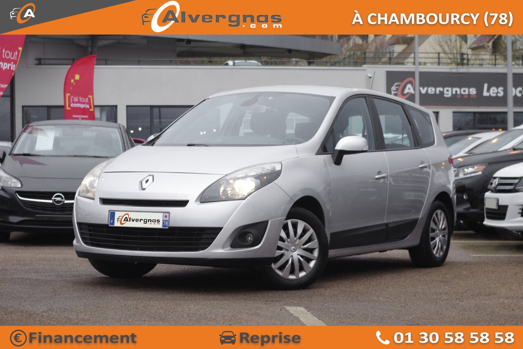 RENAULT GRAND SCENIC d'occasion sur Paris