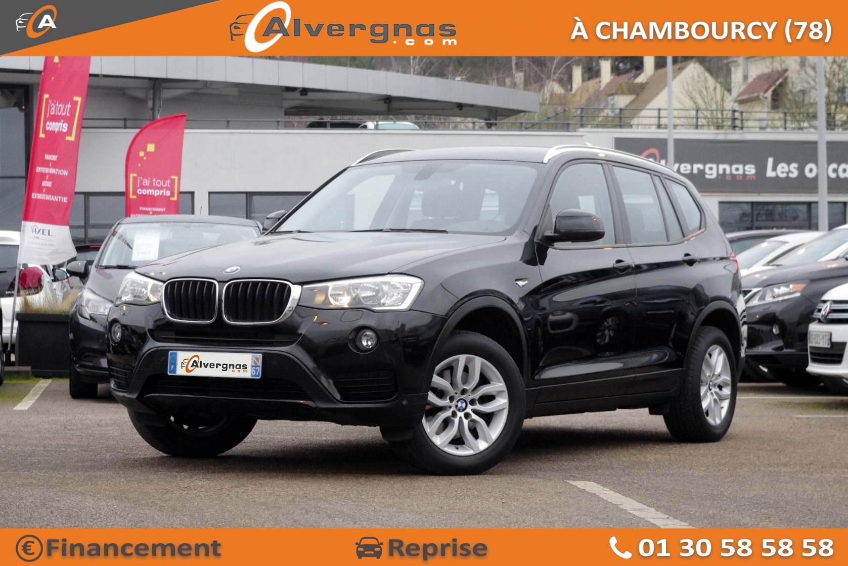 BMW X3 d'occasion sur Paris