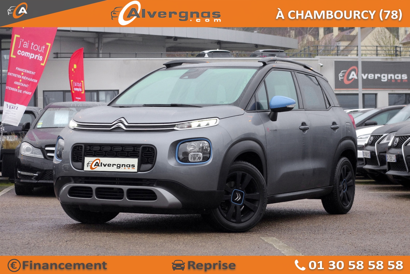 CITROEN C3 AIRCROSS d'occasion sur Paris