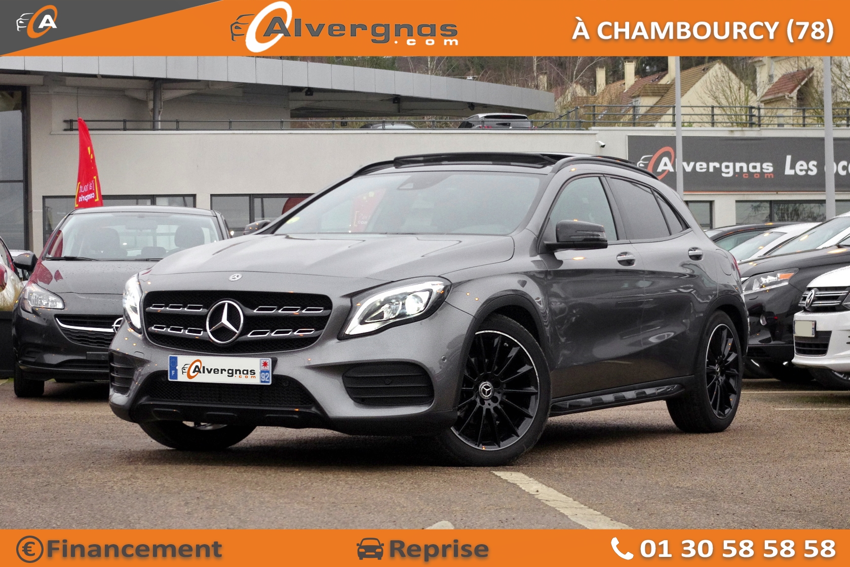 MERCEDES GLA d'occasion sur Paris