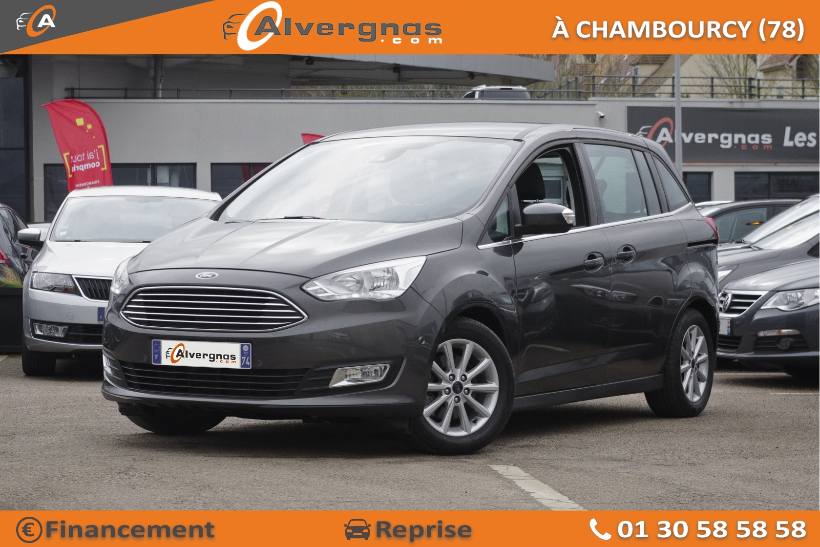 FORD GRAND C-MAX d'occasion sur Paris
