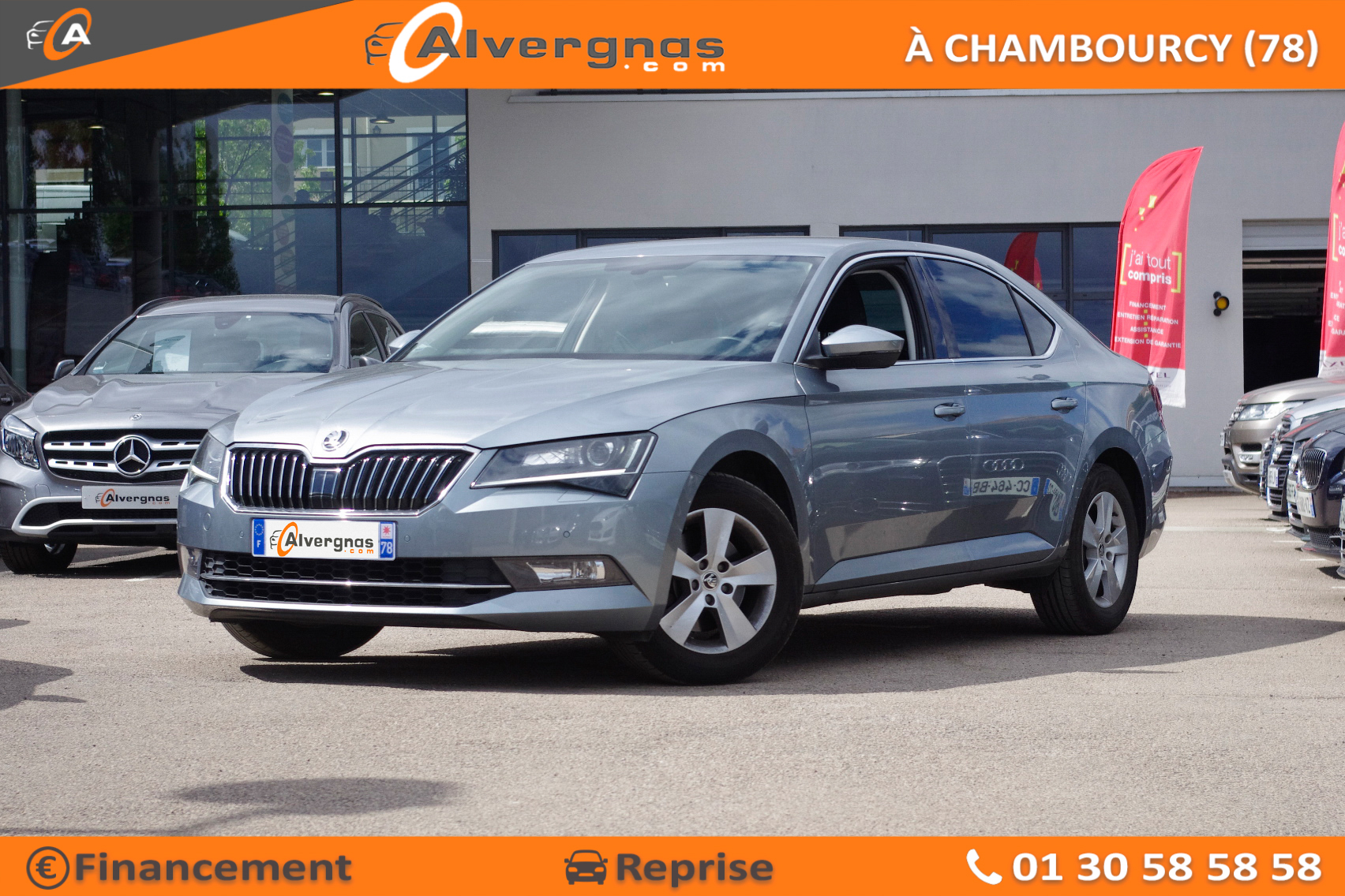 SKODA SUPERB d'occasion sur Paris