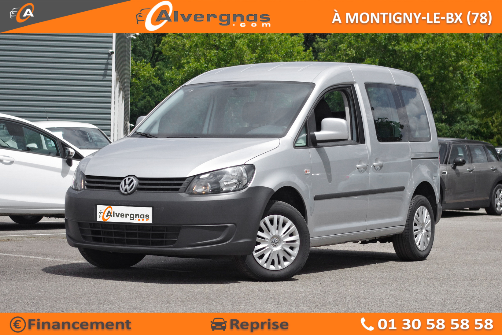 VOLKSWAGEN CADDY d'occasion sur Paris