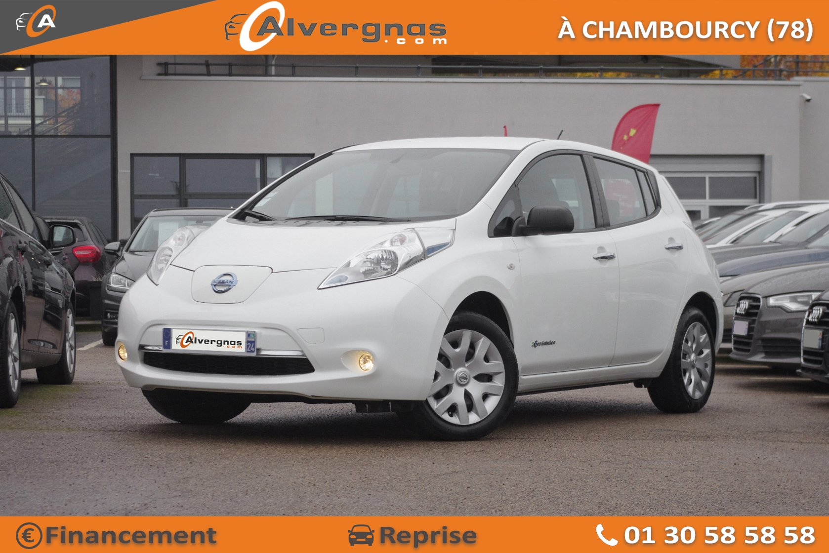 NISSAN LEAF d'occasion sur Paris