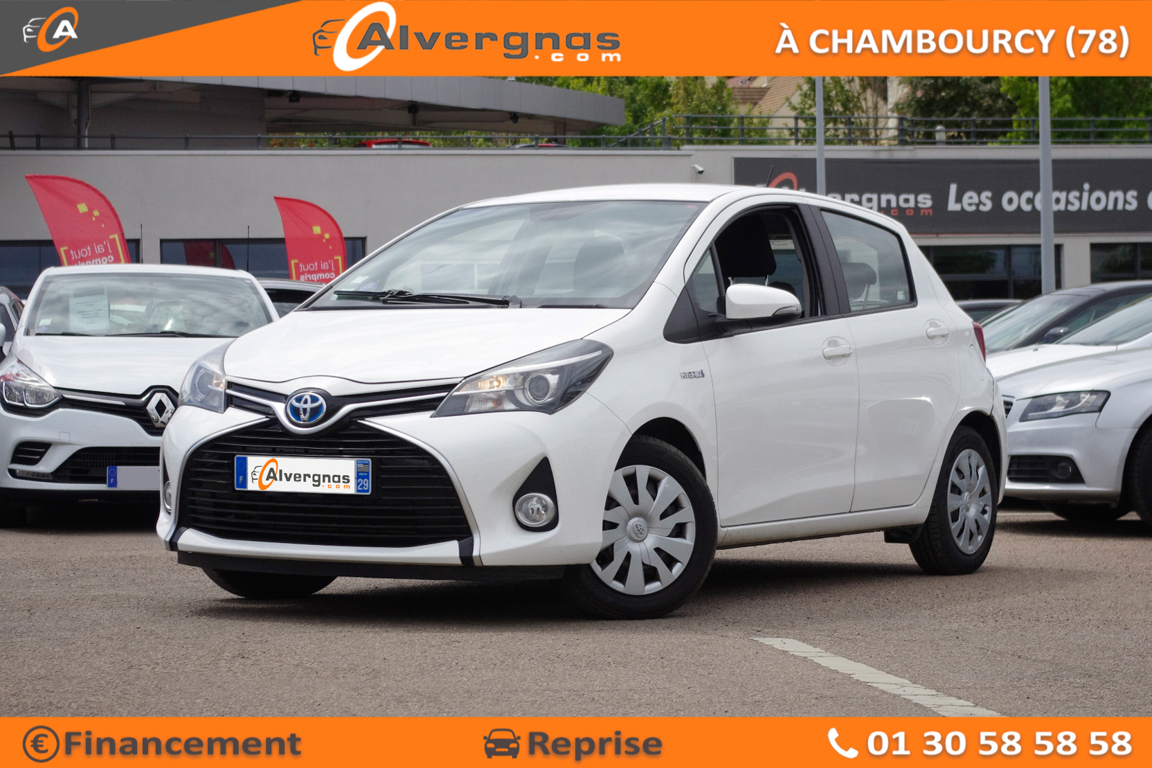 TOYOTA YARIS d'occasion sur Paris
