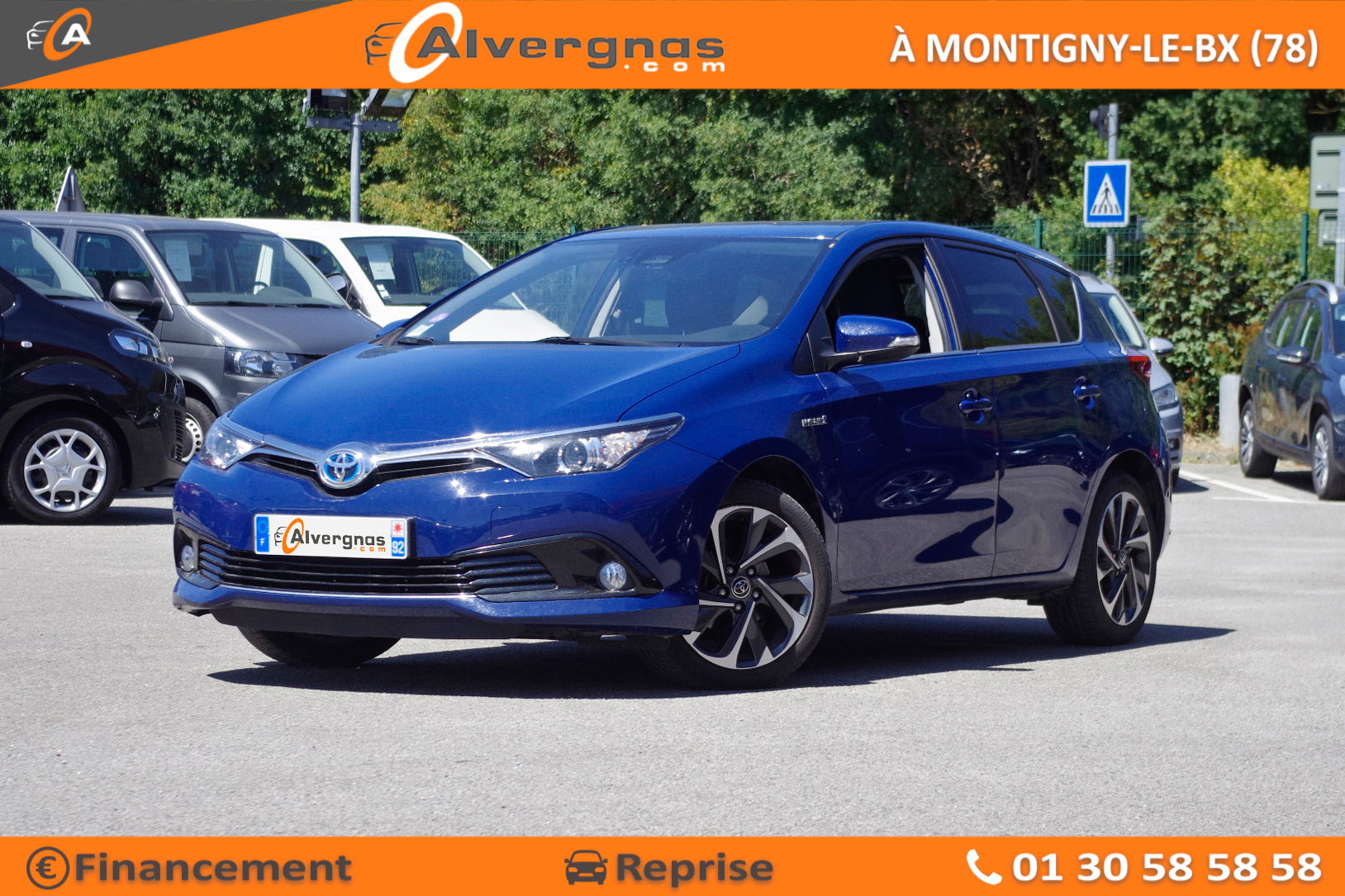 TOYOTA AURIS d'occasion sur Paris