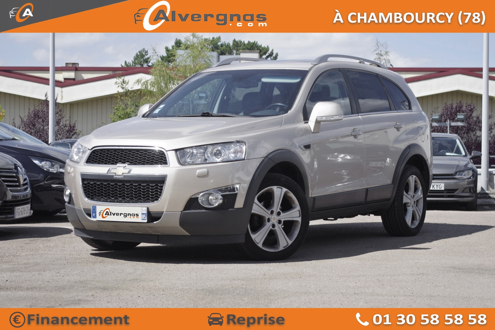 CHEVROLET CAPTIVA d'occasion sur Paris