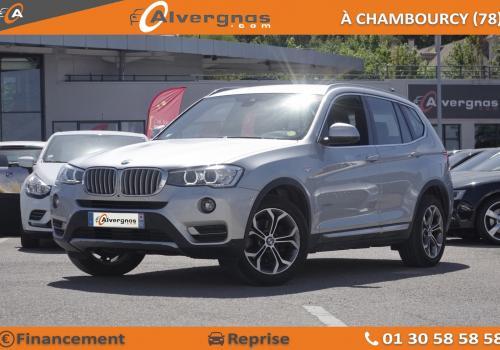 BMW X3 véhicule occasion Paris
