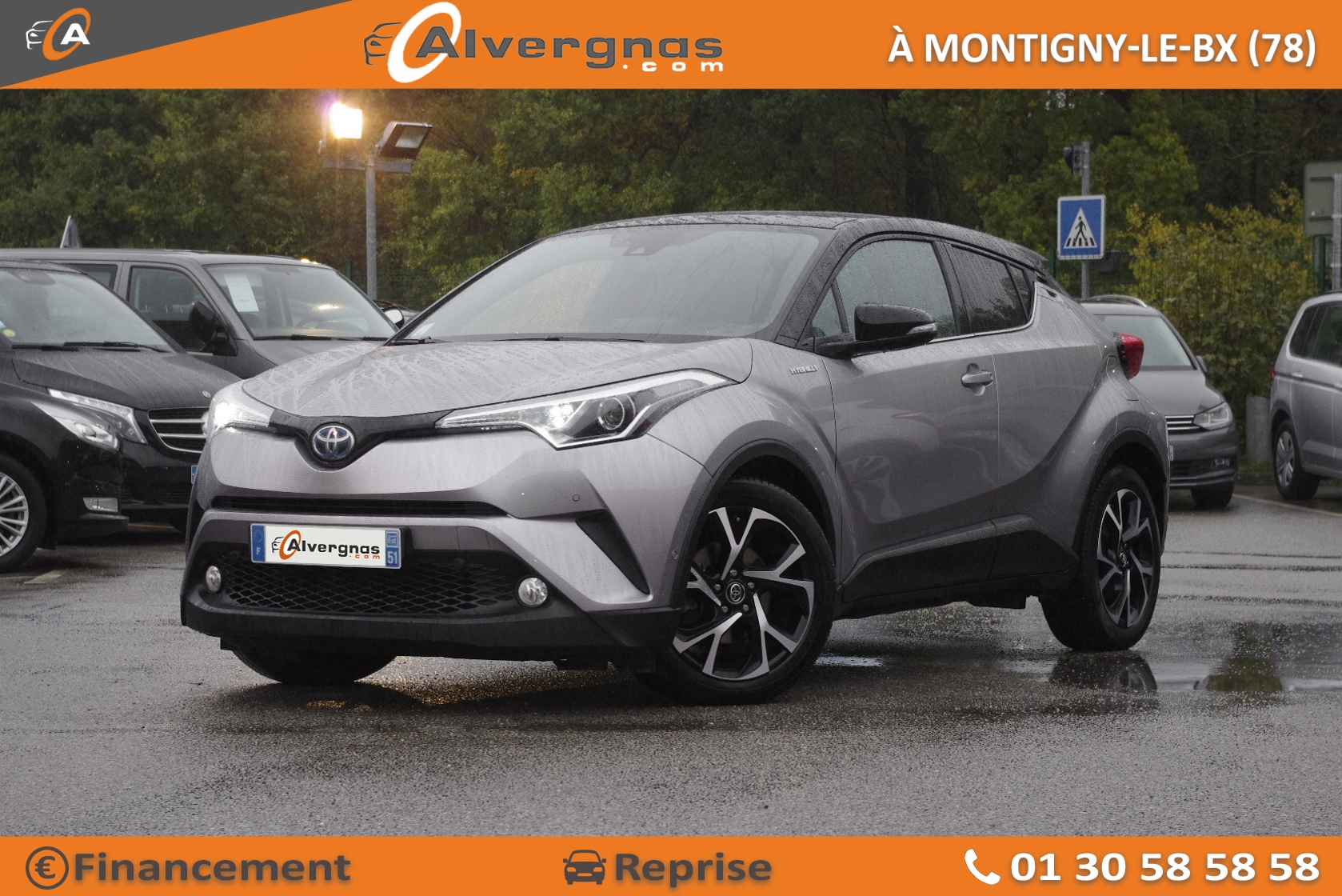 TOYOTA C-HR d'occasion sur Paris