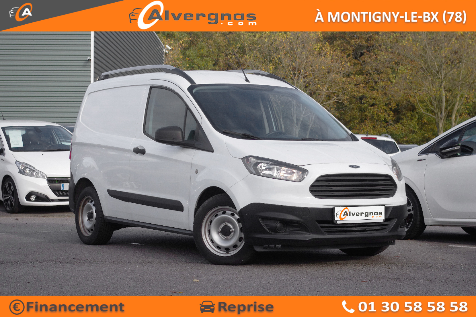 FORD TRANSIT COURIER FOURGON d'occasion sur Paris