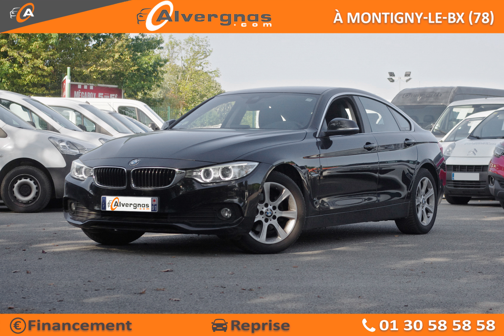 BMW SERIE 4 d'occasion sur Paris
